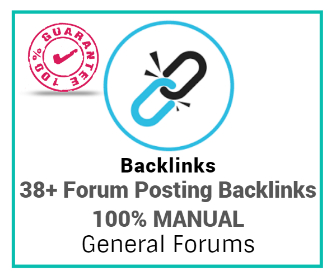 Buy 38 Best General Forum Backlinks Services