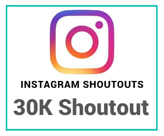 Buy instagram shoutout purchase
