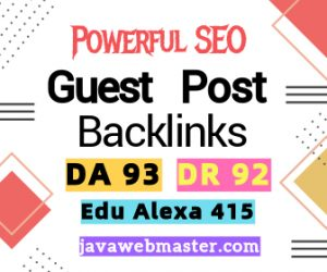 buy high da 93 backlinks USA