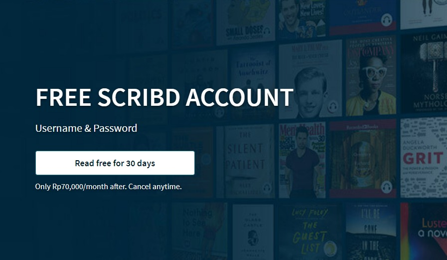 free scribd account