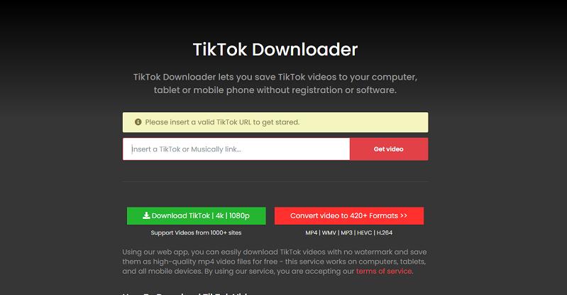 tiktok download without watermark